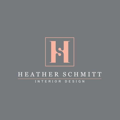 Bold logo concept for Interior Designer - Heather Schmitt