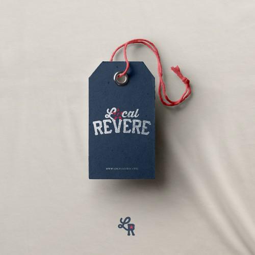 Local Revere Logo Design