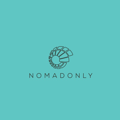 Create a trendy logo for recruitment agency 2.0 Nomadonly
