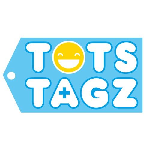 Happy tag logo design