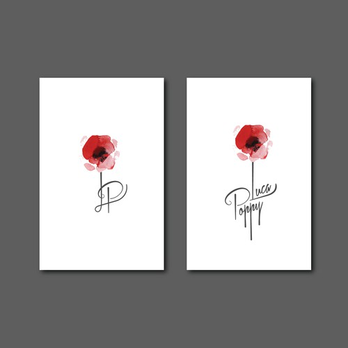 Logo design for Luca Poppy