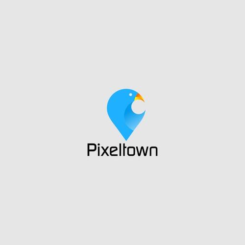 pixeltown logo