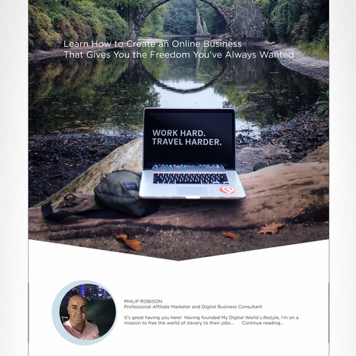 My digital world - web page design