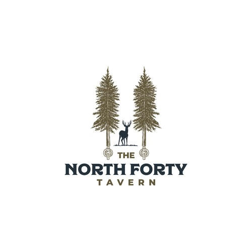Classic logo for Northwood tavern