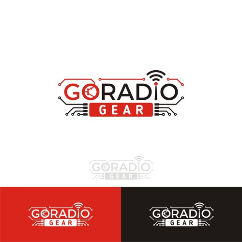 logo for go radio product
