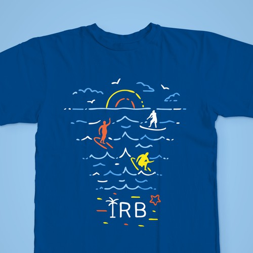 T-shirt design for resorts market in Florida