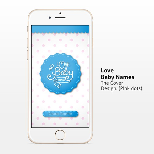 App design and Logo for Love Baby Names