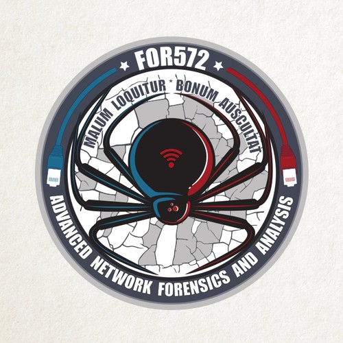 """Computer/Network Forensic """"Challenge Coin"""""""