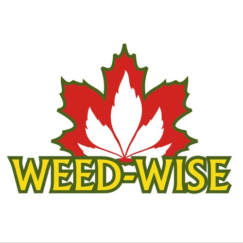 Creatively simple logo design for WEED-WISE Alberta