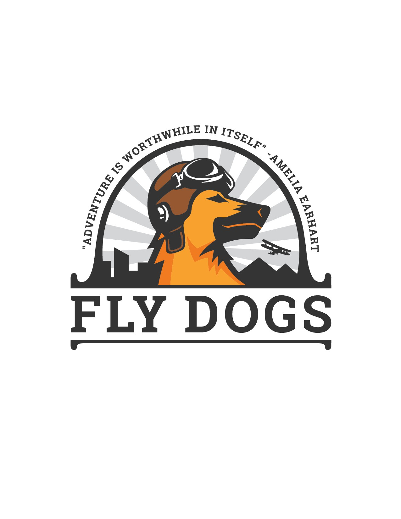 Need Bold Logo for an Earhart-Inspired Dog Adventure Business!