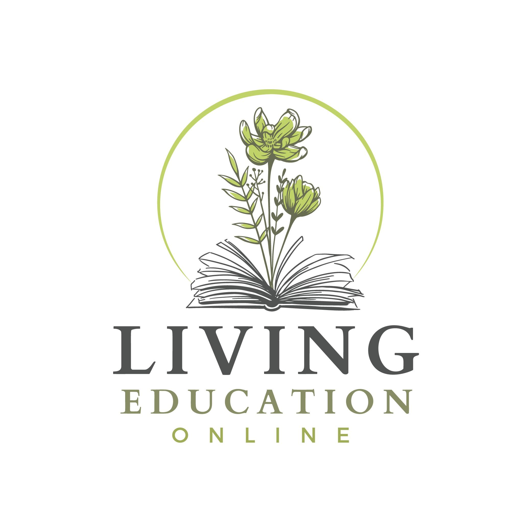 Design a logo for a nature/literature based online educational platform