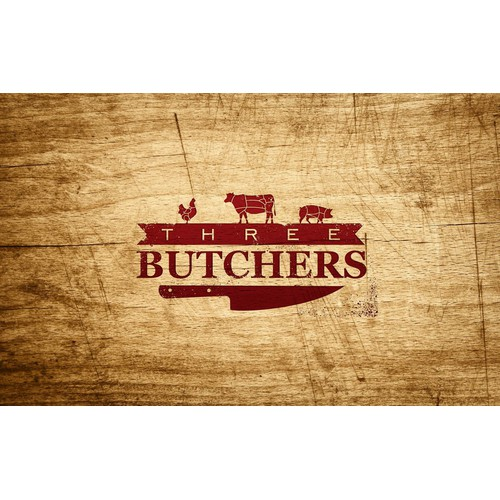 Three Butchers needs a new logo