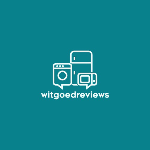 A minimal logo for white good appliances review website