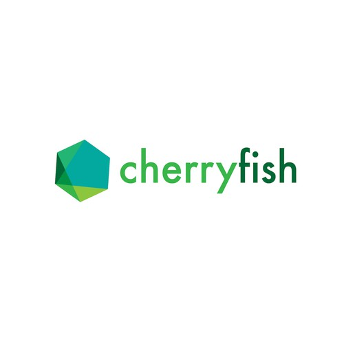 Abstract logo for cherryfish