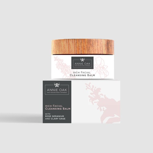 Label design for skincare product