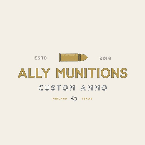 Logo Design Concept for Ally Munitions