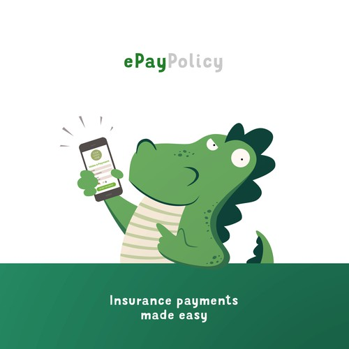 Mascot for ePay Policy, a digital payment processor