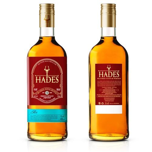 Scotch Whiskey label