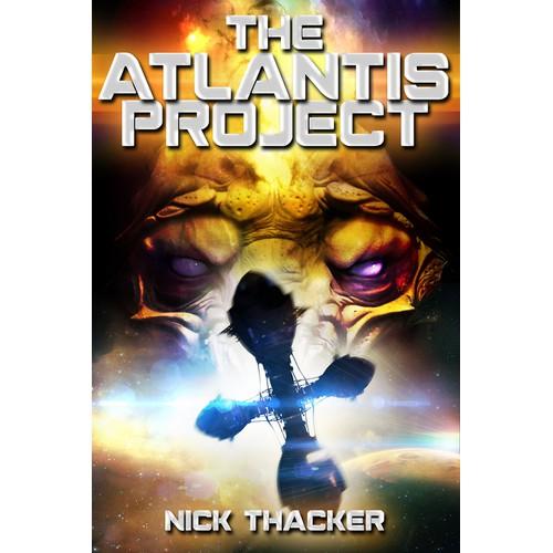Thriller/Sci-Fi Book Cover Design in Award-Winning Author's Series!