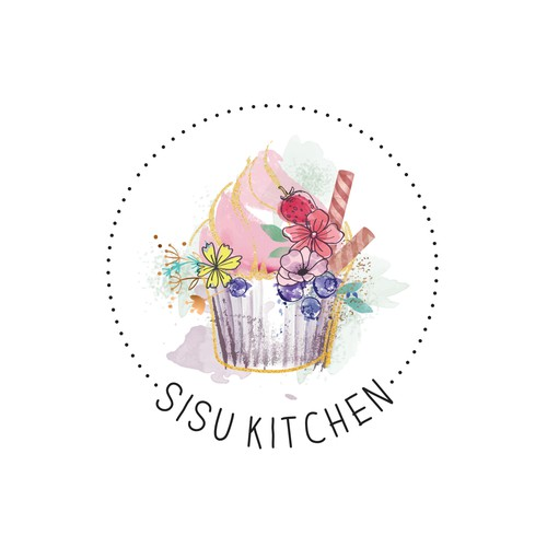 Sisu Kitchen Logo design