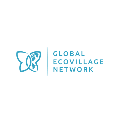 Simple logo concept for Global Ecovillage Network