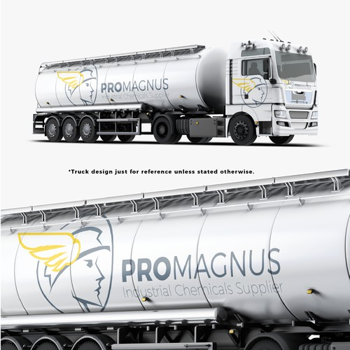 Chemical distribution company logo