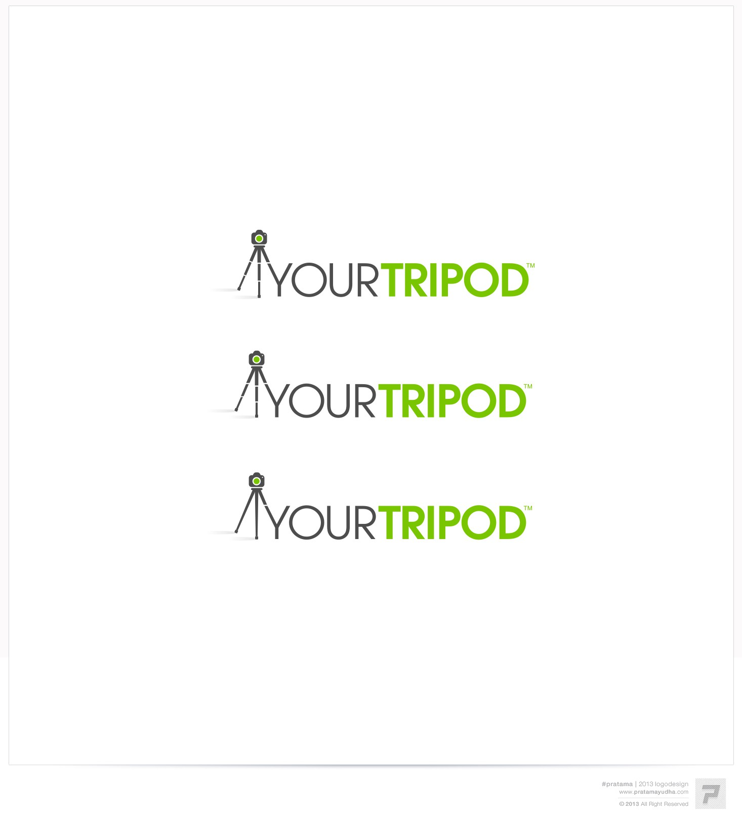 Tri your hand at designing a logo for 'Your Tripod' < See what we did there?