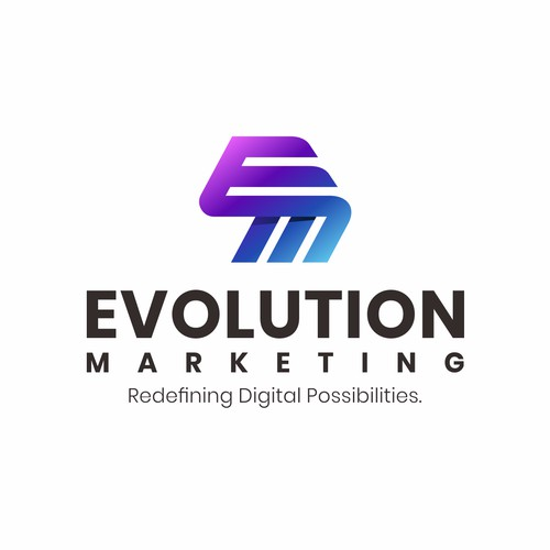 Evolution Marketing Logo Design