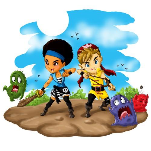 pirate duo