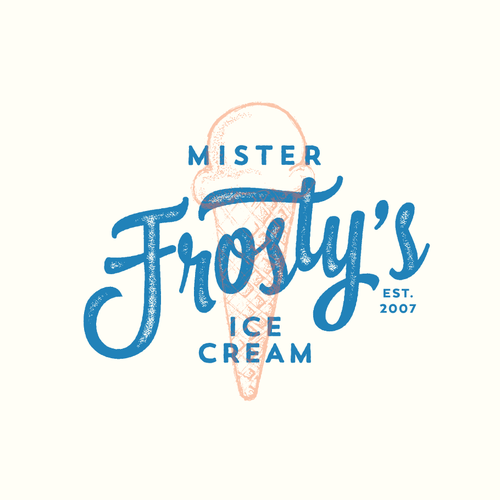 Ice Cream Shop rebranding for 10 year anniversary