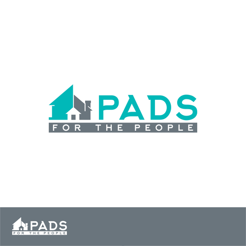 Pads For The People Logo Design