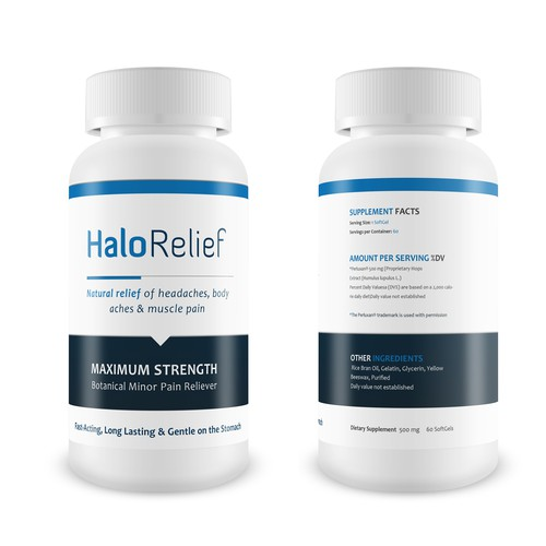 Create the next product label for Halo Health