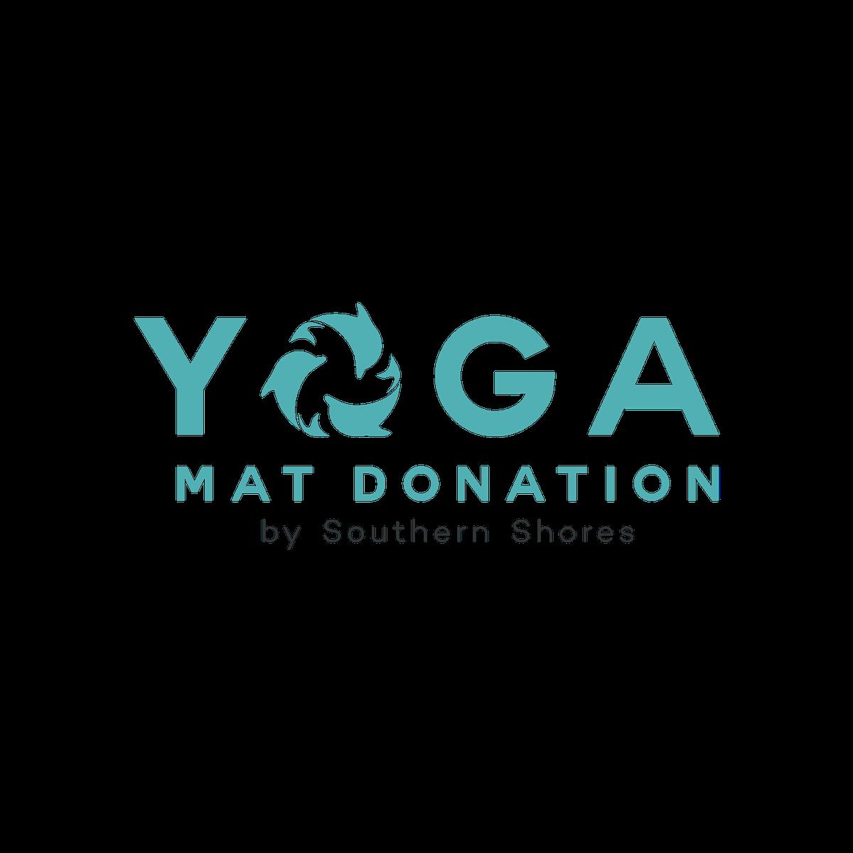 Logo for a Yoga Mat Donation/Recycling Program