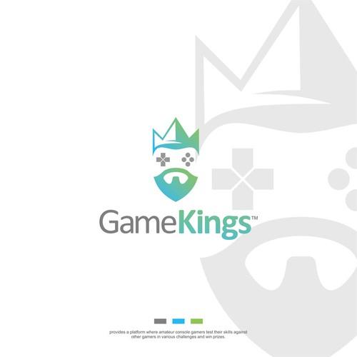 GameKings logo design