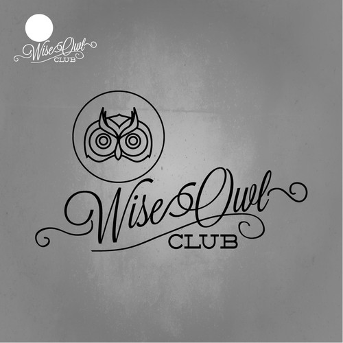 Create the next logo for Wise Owl Club
