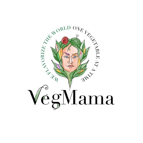 vegan logo with Midsommer nights dreame flavor