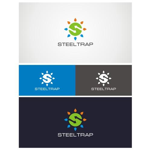Fun logo for STEELTRAP