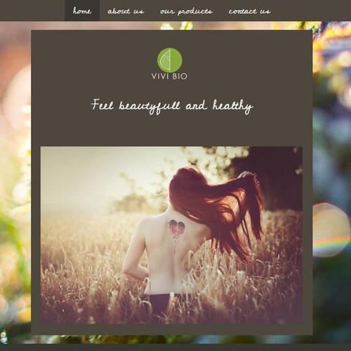 Website design for Jimdo