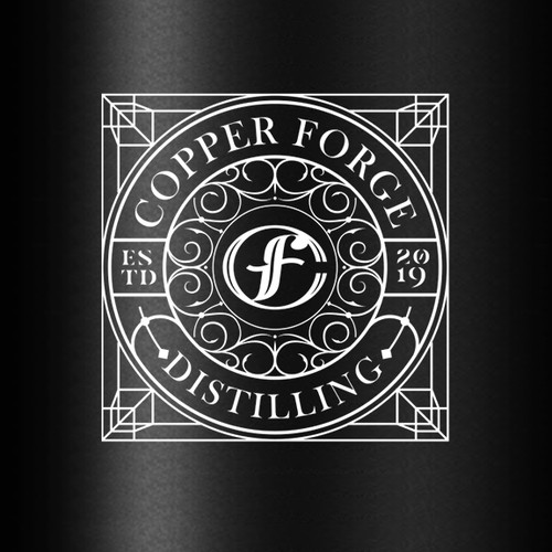 Logo for factory to distill alcohol