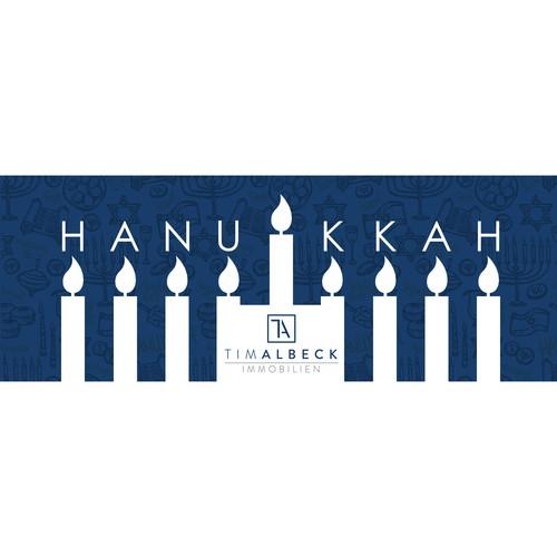 facebook cover for happy hanukkah