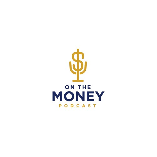 Logo for the On The Money Podcast