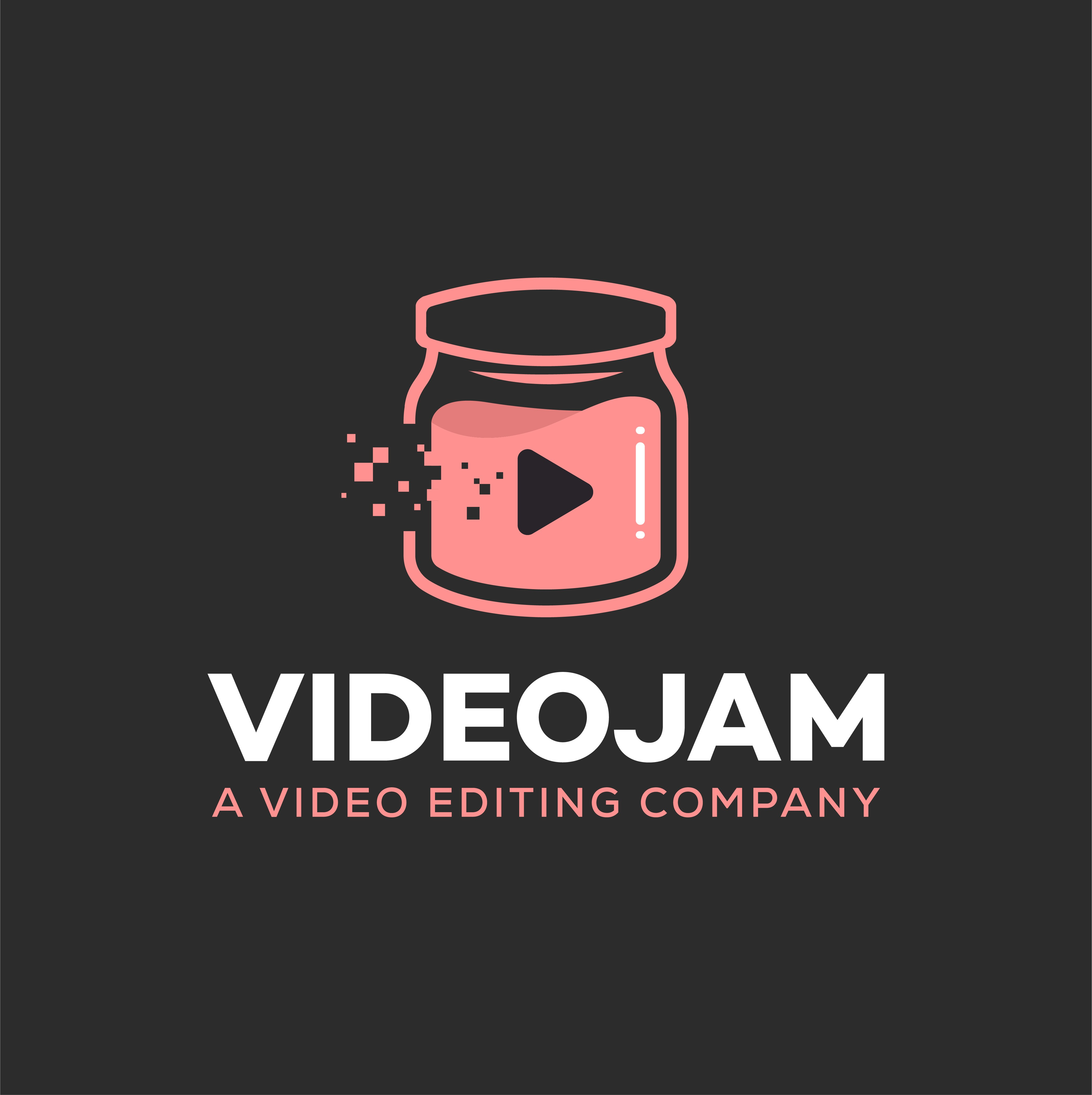 Cool logo for video editing company combining creativity and tech