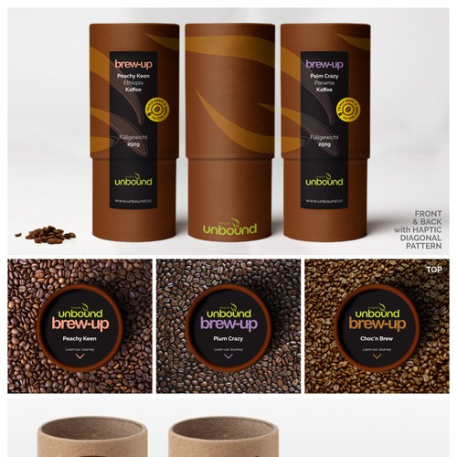 High-End Coffee Packaging Design Finalist