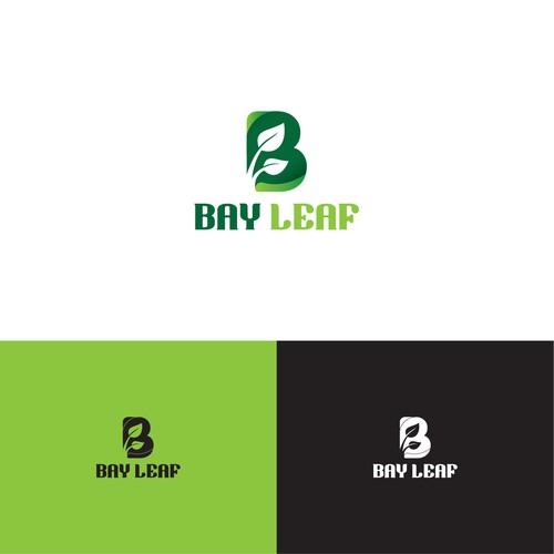 Typography Logo for BayLeaf