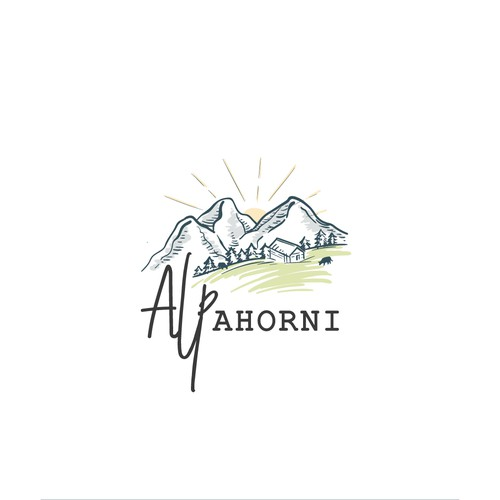Logo for Alp Ahorni Dairy Farm