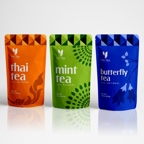Tea Packaging for Yim Tea Company