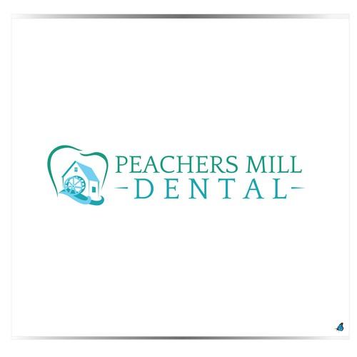 New dental office needs stunning/eye-catching logo for dark red brick building