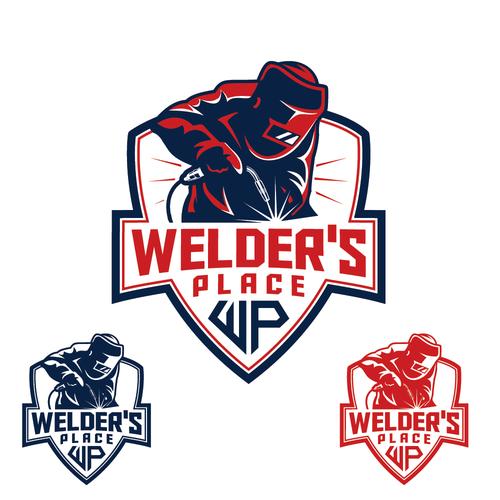 Welder's Place Logo Design