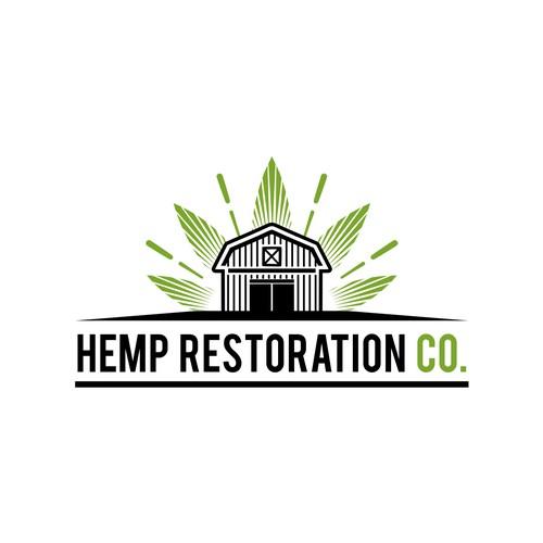 Logo for hemp farm