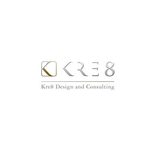 Create a logo for Kre8, an interior design company